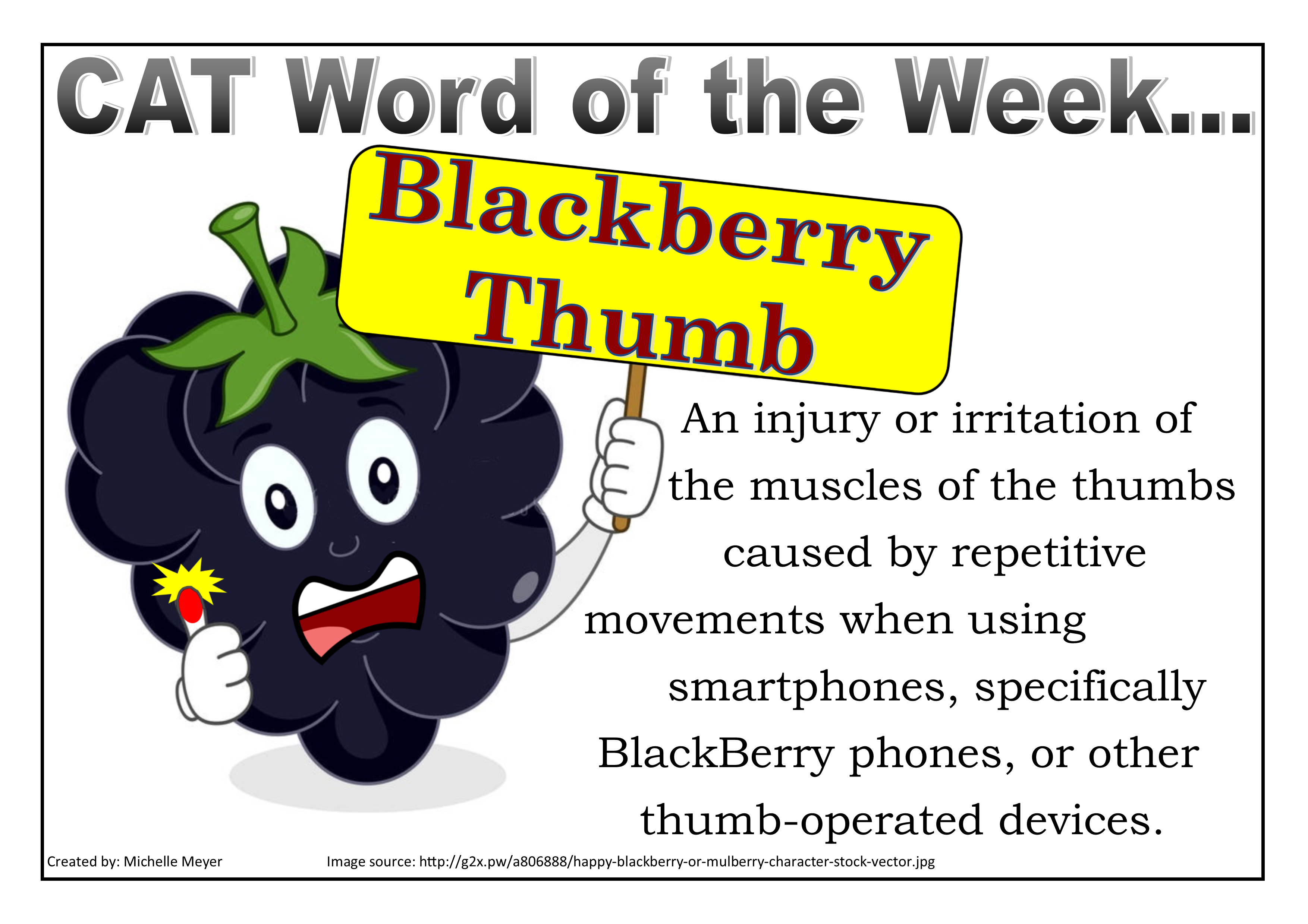 5 Blackberry Thumb