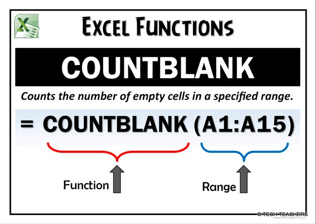 EXCEL-COUNTBLANK
