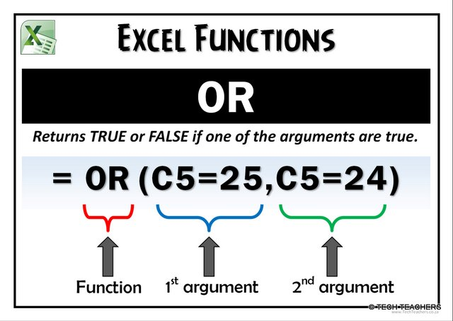 EXCEL-OR