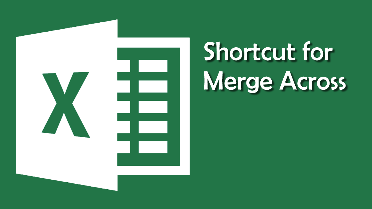 Excel_MergeAcross