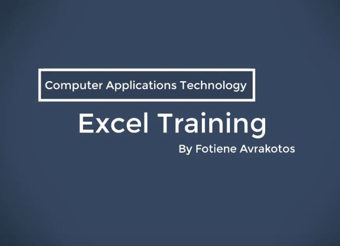 CAT Training for Access & Excel