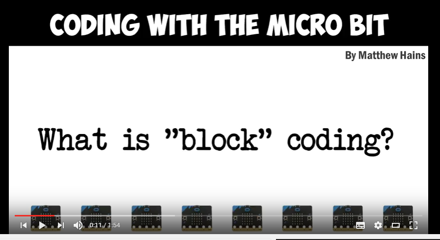 Microbit – What is 'block' coding about?
